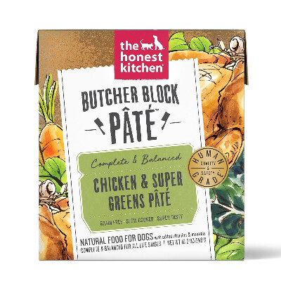 buy The-Honest-Kitchen-Butcher-Block-Chicken-And-Supergreens-For-Dogs