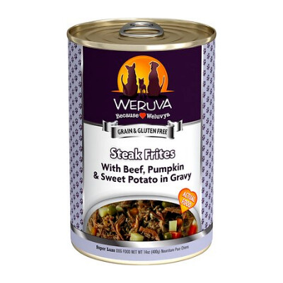 buy Weruva-Steak-Frites-Canned-Dog-Food