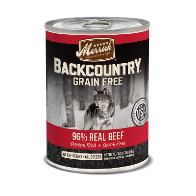 buy Merrick-Back-Country-96-Beef-Canned-Dog-Food
