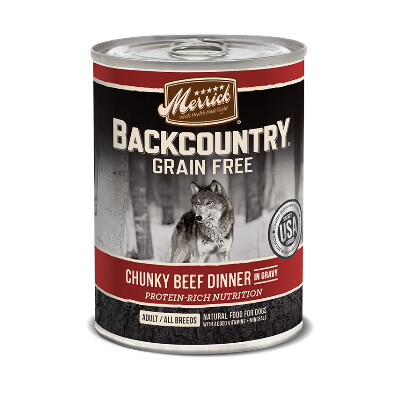buy Merrick-Back-Country-Chunky-Beef-Canned-Dog-Food