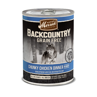 buy Merrick-Back-Country-Chunky-Chicken-Canned-Dog-Food