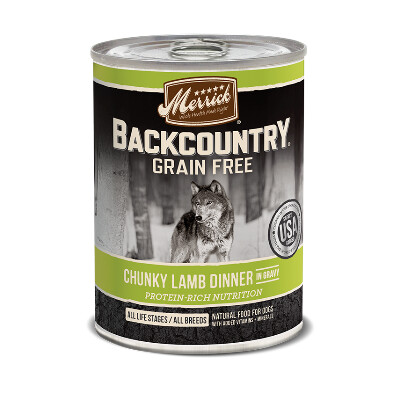 buy Merrick-Back-Country-Chunky-Lamb-Canned-Dog-Food