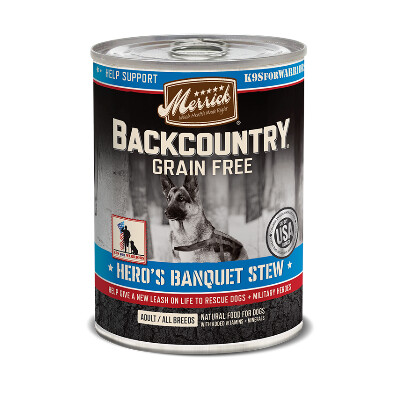 buy Merrick-Back-Country-Heros-Banquet-Canned-Dog-Food