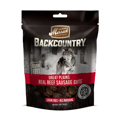 buy Merrick-Backcountry-Beef-Sausage-Dog-Treats