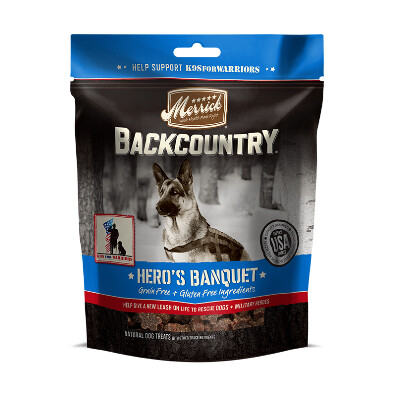 buy Merrick-Backcountry-Heros-Banquet-Dog-Treats