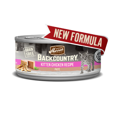 buy Merrick-Backcountry-Pate-Kitten-Canned-Cat-Food