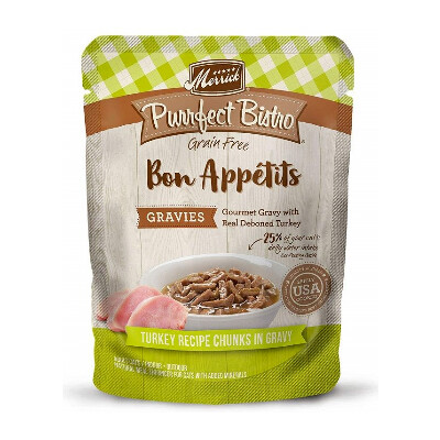 buy Merrick-Bon-Appetits-Turkey-Morsels-Toppers-For-Cats