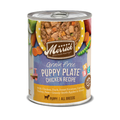 buy Merrick-Chicken-Plate-Canned-Puppy-Food