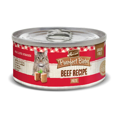 buy Merrick-Purrfect-Bistro-Beef-Canned-Cat-Food
