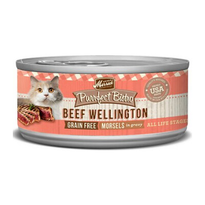 buy Merrick-Purrfect-Bistro-Beef-Wellington-Canned-Cat-Food