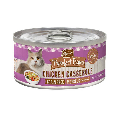 buy Merrick-Purrfect-Bistro-Chicken-Casserole-Canned-Cat-Food