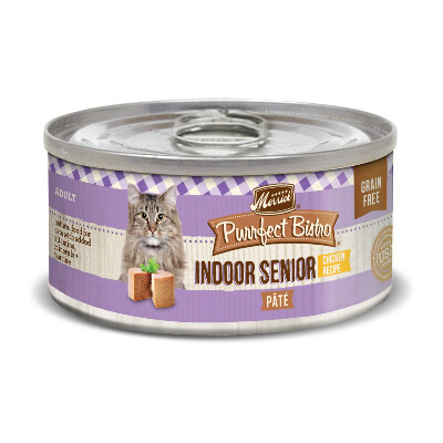 buy Merrick-Purrfect-Bistro-Indoor-Senior-Chicken-Canned-Cat-Foodd-Cat-Food