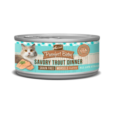 buy Merrick-Purrfect-Bistro-Savoury-Trout-Canned-Cat-Food