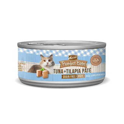 buy Merrick-Purrfect-Bistro-Tuna-and-Tilapia-Canned-Cat-Food