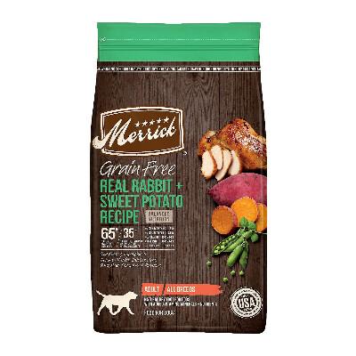 buy Merrick-Rabbit-and-Sweet-Potato-Dry-Dog-Food