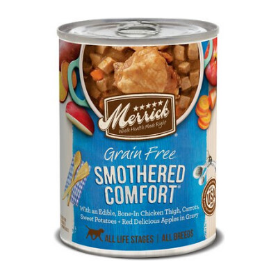 buy Merrick-Smothered-Comfort-Canned-Dog-Food