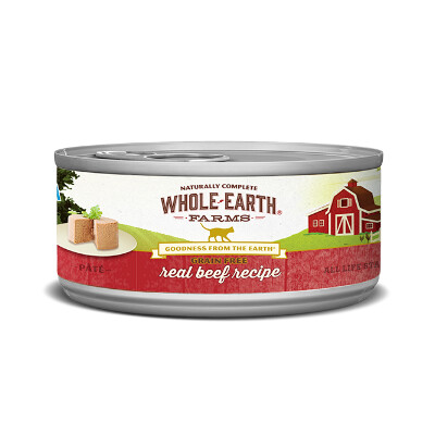 buy Merrick-Whole-Earth-Farms-Beef-Canned-Cat-Food