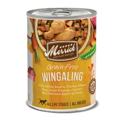 buy Merrick-Wingaling-Canned-Dog-Food