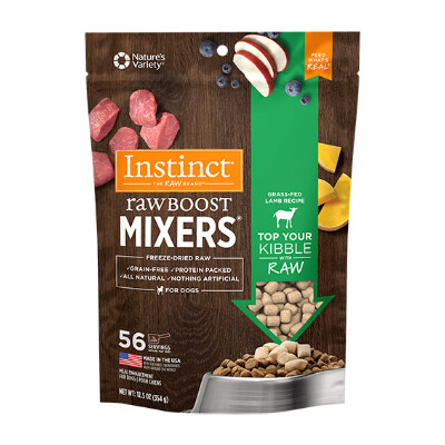 buy Natures-Variety-Instinct-Raw-Boost-Mixers-Lamb-Dog-Food
