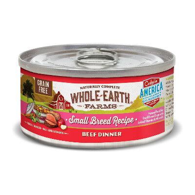 buy Whole-Earth-Farms-Beef-Canned-Small-Breed-Dog-Food