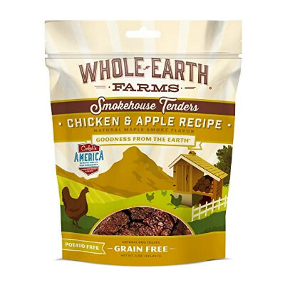 buy Whole-Earth-Farms-Chicken-and-Apple-Tenders-Dog-Treats