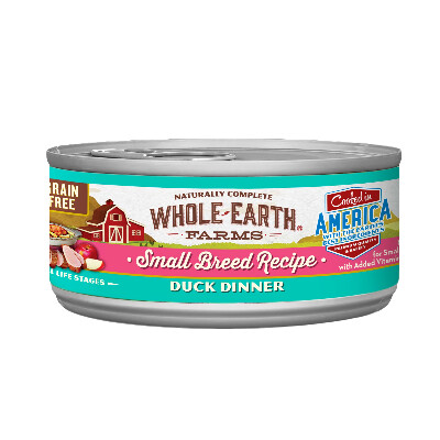 buy Whole-Earth-Farms-Duck-Canned-Small-Breed-Dog-Food