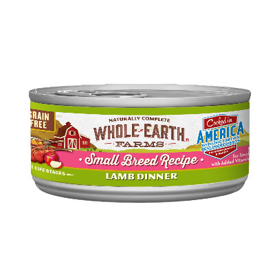 buy Whole-Earth-Farms-Lamb-Canned-Small-Breed-Dog-Food