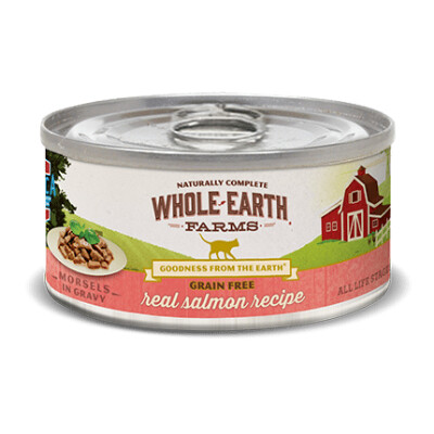 buy Whole-Earth-Farms-Salmon-Canned-Cat-Food