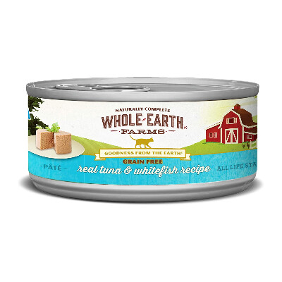 buy Whole-Earth-Farms-Tuna-and-Whitefish-Canned-Cat-Food