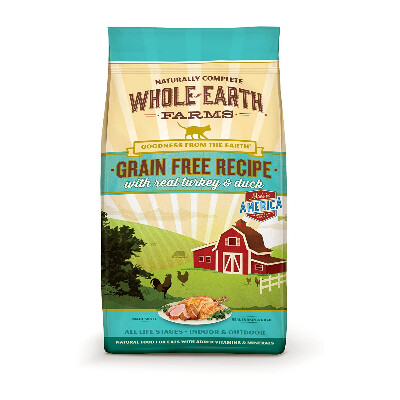 buy Whole-Earth-Farms-Turkey-and-Duck-Dry-Cat-Food