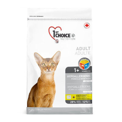 buy 1st-Choice-Adult-Hypoallergenic-Grain-Free-Duck-Cat-Food