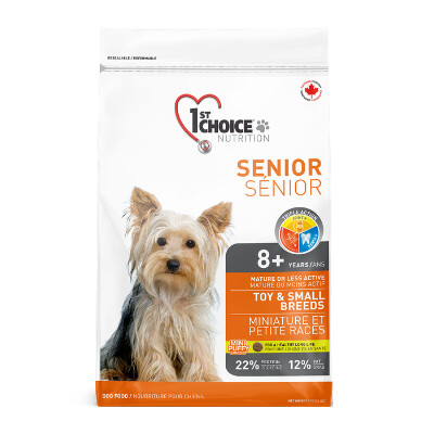 buy 1st-Choice-Senior-Toy-and-Small-Breed-Chicken-Dog-Food