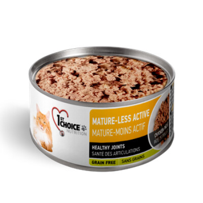 buy 1st-Choice-Senor-Mature-Less-Active-Pate-Canned-Cat-Food