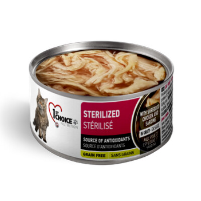 buy 1st-Choice-Sterilized-Chicken-Pate-Canned-Cat-Food