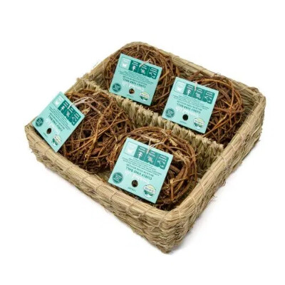 buy Oxbow-Enriched-Life-Curly-Vine-Ball-Basket-Small-Animals