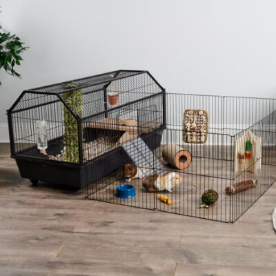 buy Oxbow-Enriched-Life-Habitat-With-Play-Yard-For-Small-Animals