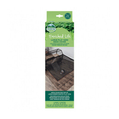 buy Oxbow-Enriched-Life-Large-Play-Yard-Mesh-Cover-For-Small-Animals