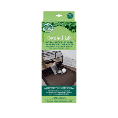 buy Oxbow-Enriched-Life-Leakproof-Play-Yard-Floor-Cover-For-Small-Animals