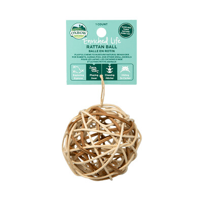buy Oxbow-Enriched-Life-Rattan-Ball-For-Small-Animals