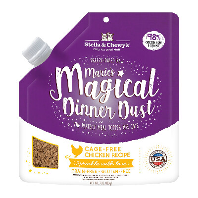 buy Stella-And-Chewys-Maries-Magical-Chicken-Dust-Topper-For-Cats