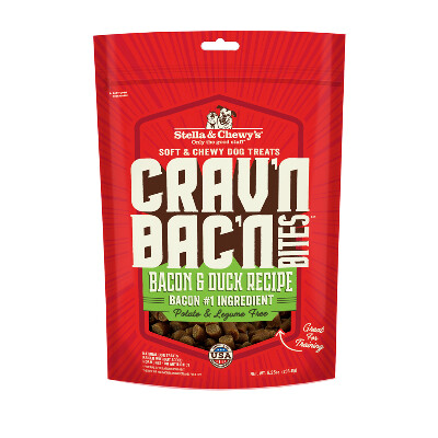 buy Stella-and-Chewys-Cravn-Bacn-Bites-Bacon-and-Duck-Freeze-Dried-Raw-Dog-Treats