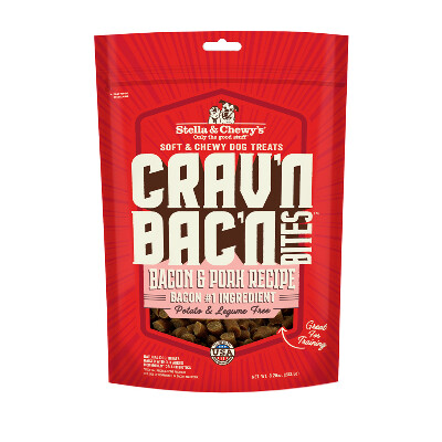 buy Stella-and-Chewys-Cravn-Bacn-Bites-Bacon-and-Pork-Freeze-Dried-Raw-Dog-Treats