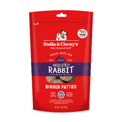 buy Stella-and-Chewys-Rabbit-Freeze-Dried-Raw-Dog-Food