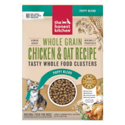 buy The-Honest-Kitchen-Chicken-and-Oat-Whole-Grain-Clusters-Puppy-Food