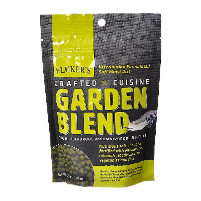 buy Flukers-Crafted-Cuisine-Garden-Blend-Reptile-Food