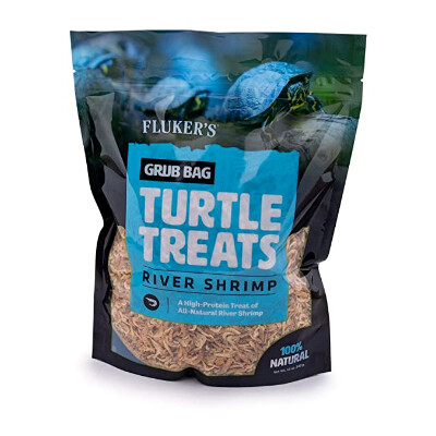 buy Flukers-Grub-Bag-Rivershrimp-Turtle-Treats