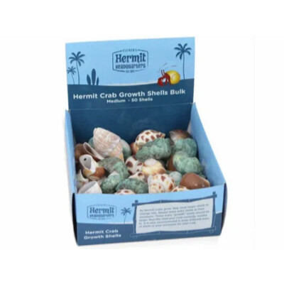 buy Flukers-Hermit-Crab-Growth-Shells-Bulk