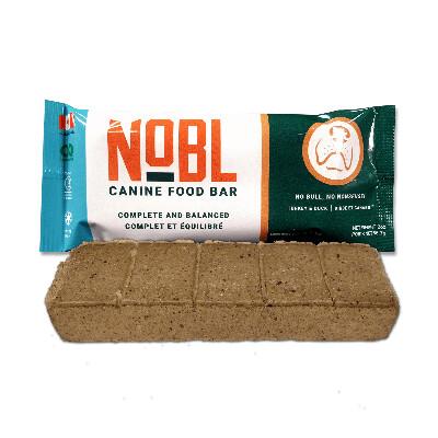 buy Nobl-Turkey-and-Duck-Food-Bar-Dog-Food