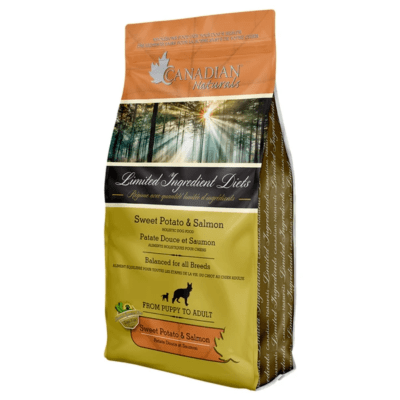 Canadian Naturals Limited Ingredient Diet Salmon & Sweet Potato Dog Food